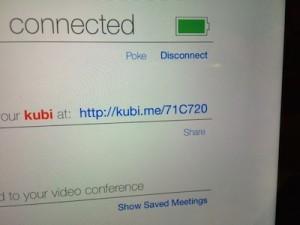 PCからクビ(kubi)を動かしてみます。